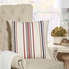 Lyon Striped Pillow Cover by Birch Lane