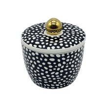 Dot Decorative Kitchen Canister