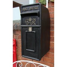 Royal Mail GR Locking Wall Mounted Letter Box