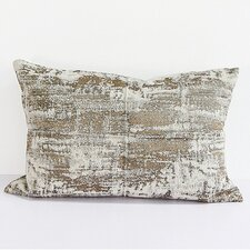 Luxury Metallic Chenille Lumbar Pillow by G Home Collection