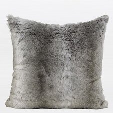 Luxury Gradient Faux Fur Throw Pillow  by G Home Collection