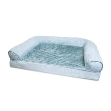 Furhaven Plush Orthopedic Sofa-Style Dog Bed