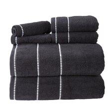 Davenport 100% Cotton 6 Piece Towel Set