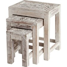 Adelaide 3 Piece Nesting Tables by Bungalow Rose