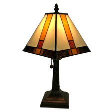"""Tiffany Mission 15"""" Table Lamp"""
