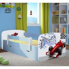 Kinderbett Formula 1 mit Matratze und Schublade