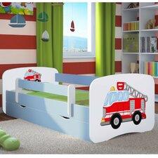 Kinderbett Fire Engine mit Matratze und Schublade