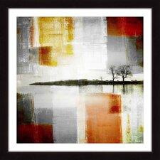 'Distant Shore' by Parvez Taj Framed Painting Print