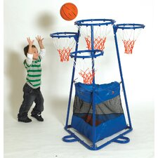 4 Ring Basketball Stand with Storage Bag by Childrens Factory