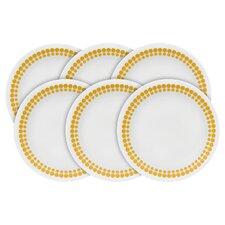 "Vintage Charm Spot on 6.75"" Dessert Plate (Set of 6)"