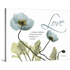 Love Poppies by Albert Koetsier Photographic Print on Canvas  by Great Big Canvas