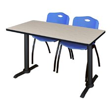 Cain Training Table with Chairs