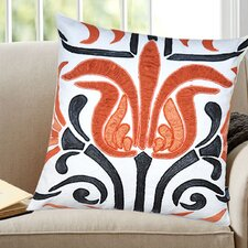 Lydia Cotton Throw Pillow by A1 Home Collections LLC