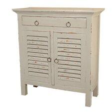Edisto 2 Door Cabinet by Beachcrest Home