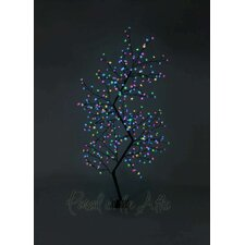 Outdoor Zig Zag Cherry Blossom Tree with LED Fairy Light