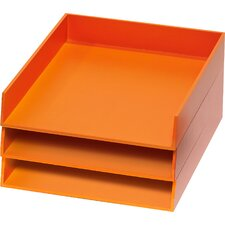 Bright Desk Organizers 3 Letter Tray Set (Set of 3)