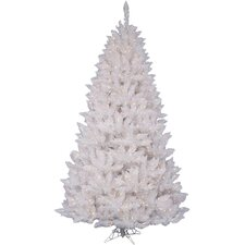 5.5' White Sparkle Spruce Artificial Christmas Tree with Clear Lights