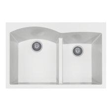 """Quartztone 33"""" x 22""""  Granite Kitchen Sink"""
