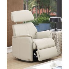 Padua Leather Layflat Recliner Chair
