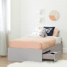 Cookie Twin Mates Bed with Storage by South Shore