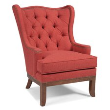 Tufted Back Wingback Chair by Fairfield Chair