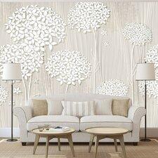 Creamy Dantiness 2.1m x 300cm Wallpaper