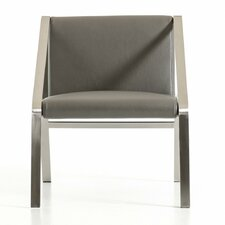Wesley Modern Bonded Leather Side Chair