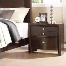 Bay Hill 3 Drawer Nightstand by Fairfax Home Collections