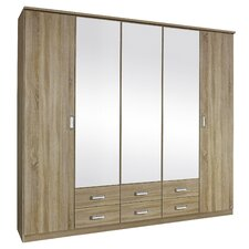 Gandra 5 Door Wardrobe