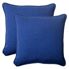 Fresco Corded Outdoor Throw Pillow (Set of 2)