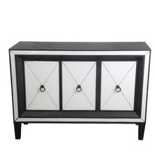 Southsea 3 Door Mirrored Accent Console by House of Hampton