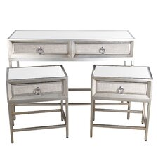 Prescot 3 Piece Console Table Set by Mercer41™