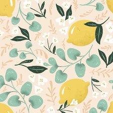Lovely Lemons Removable 5' x 20