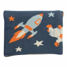 Outer Space Baby Blanket