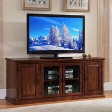"Leaded Glass 60"" TV Stand"