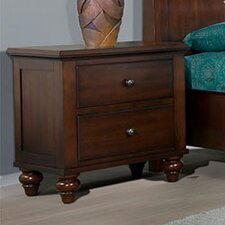 Newport 2 Drawer Nightstand by Cambridge