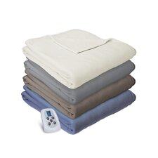 Heated Electric Warming Soft Micro Fleece Throw Blanket