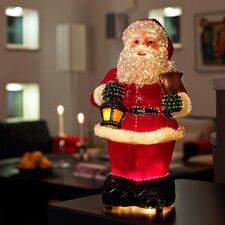 LED-Fiberoptikfigur Weihnachtsmann
