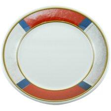"Decorated 8"" Melamine Life Preserver Non-skid Salad/Dessert Plate (Set of 4)"