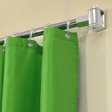 196cm Adjustable Curved Fixed Shower Curtain Rail