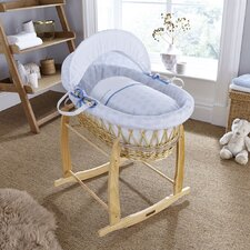 Speckles Wicker Moses Basket