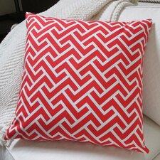 ZigZag Coral Indoor Throw Pillow