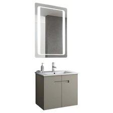 New York 26 Single Bathroom Vanity Set with Mirror by ACF Bathroom Vanities