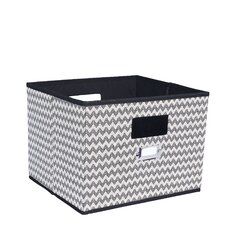 Deluxe Open Fabric Cubes & Bins by Household Essentials