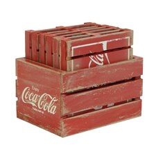 7 Piece Crate with Pallets Set