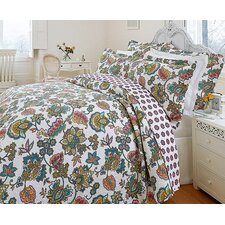 Indian Tree Quilted Bedspread Set