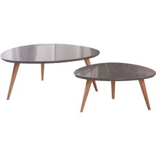 Isabella 2 Piece Coffee Table Set by Container