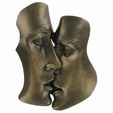 The Kiss Cold Cast Bronze Wall Décor