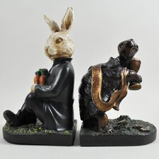 The Tortoise and Hare Bookends (Set of 2)