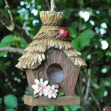 Thatched Roof Hanging Bird House